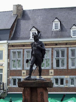Statue of Ambiorix in Tongeren