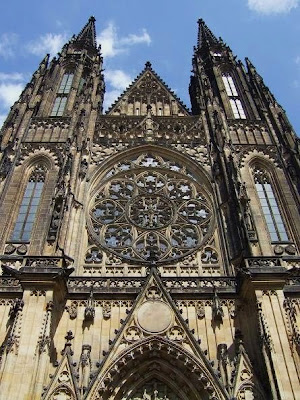 outside view of St. Vitus Cathedral, Prague