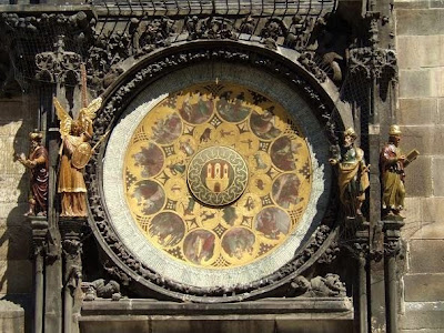 calender dial of Astronomical Clock in Prague