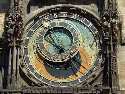 astronomical dial of Astronomical Clock in Prague