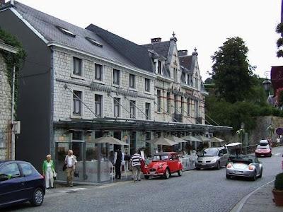 street in Durbuy, Belgium