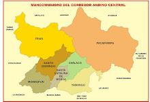 MANCOMUNIDAD DEL CORREDOR ANDINO CENTRAL