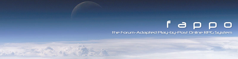 F.A.P.P.O.: The Forum-Adapted Play-by-Post Online RPG System: The Blog