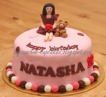 Mysunshine Cake Figurine Birthday Cake