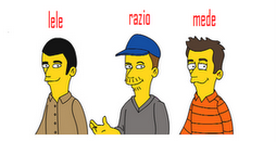 ..Noi Simpsonized..