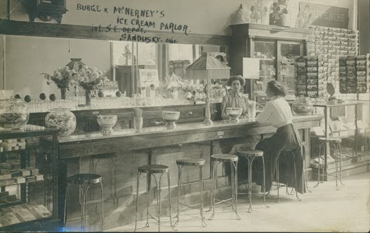 Sandusky History Burge Amp Mcnerney S Ice Cream Parlor