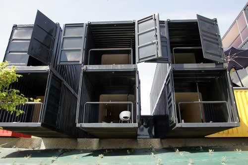 Grupo nuevas t cnicas viviendas contenedor - Vivienda contenedor maritimo ...
