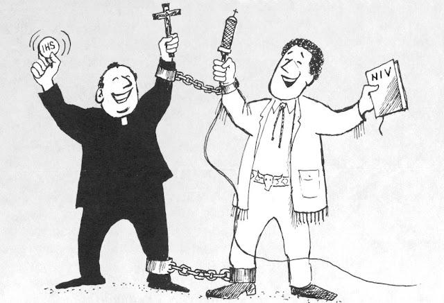 Resultado de imagem para ecimenismo entre católicos e protestasntes