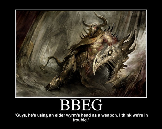 How to make a Big Bad Evil Guy (BBEG) - So You Think You Can GM? (GM Tips Part IV)