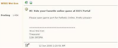 pathetic online request