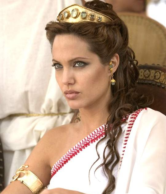 Ancient Egypt Rome And Greece Angelina Jolie As