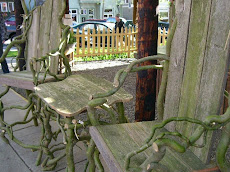 Whimsical Chairs and Table