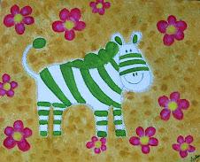 Zebra verde
