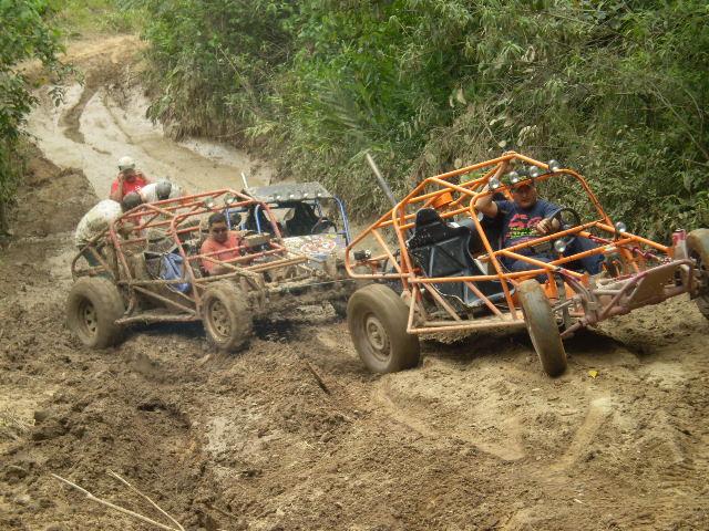 Uma das trilhas de jeep e gaiola da III Trilha das Malhas