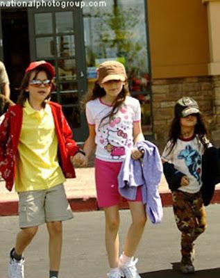 Fotos de los Hijos de Michael Jackson
