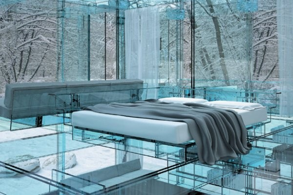 A casa de vidro