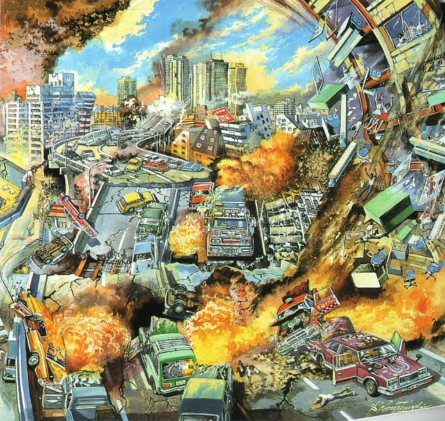 Japanese Sci Fi Art Iso50 Blog: Fresh Pics: 35 Retro Sci-fi Illustrations