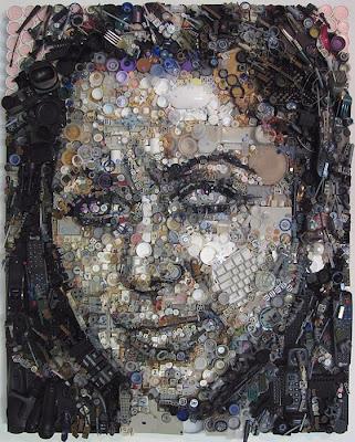 Retratos de lixo por Freeman Zac 9