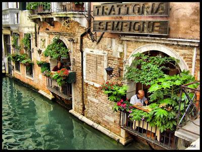 итальянское кафе, Венеция