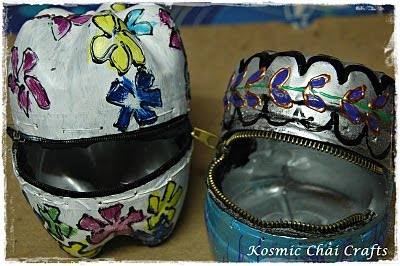 Kosmic Chai Crafts Plastic Bottle Purses Guest Post