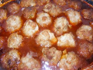 Boulettes à la sauce chili aux raisins Boulettes+%C3%A0+la+sauce+chili+aux+raisins