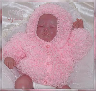 Sj2b Baby Reborn Baby Items Loopy Cardigans
