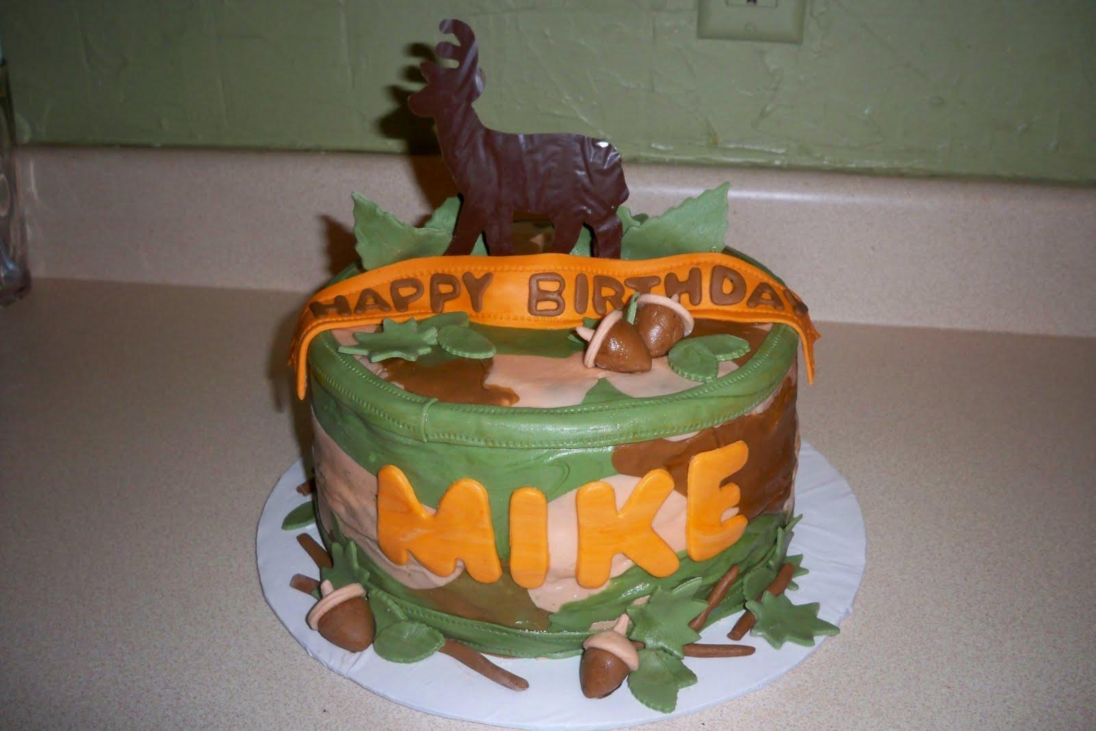 Julie Daly Cakes Hunter Birthday Cake