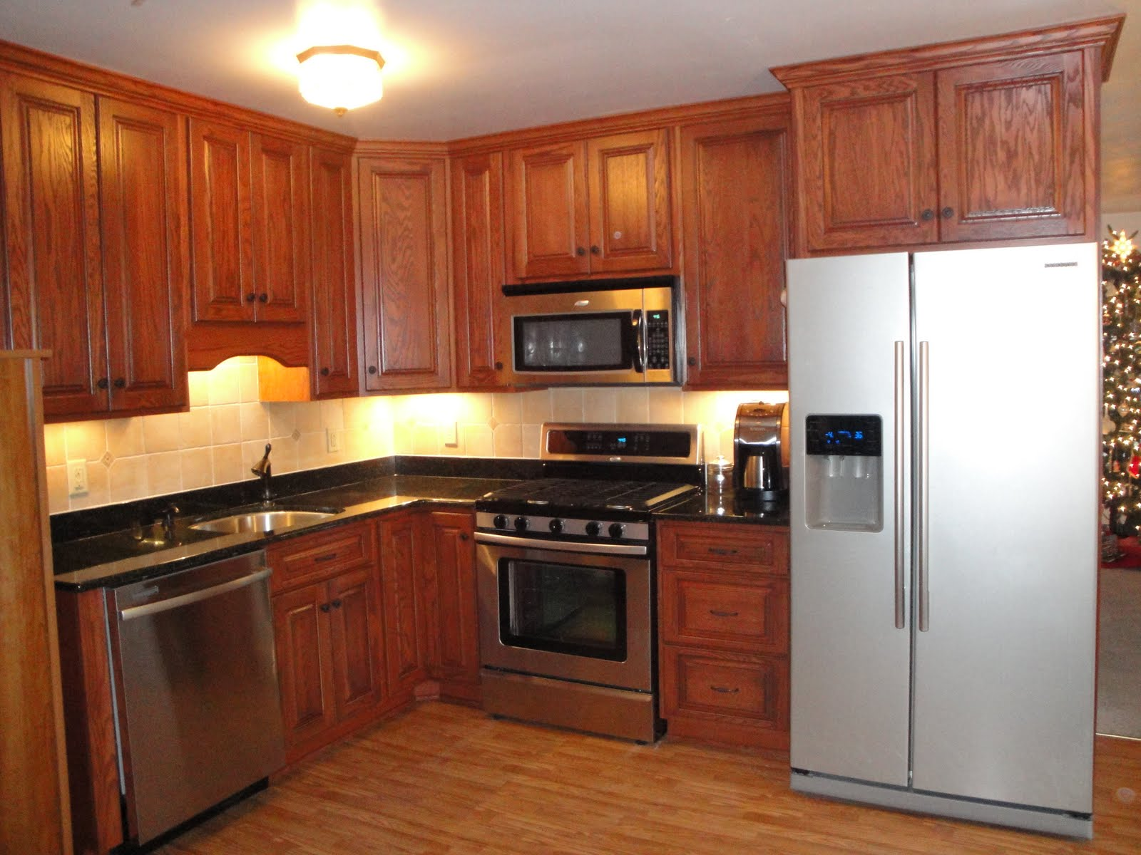 Used Oak Kitchen Cabinets Kitchen Emporium Red Oak Kitchen Remodel
