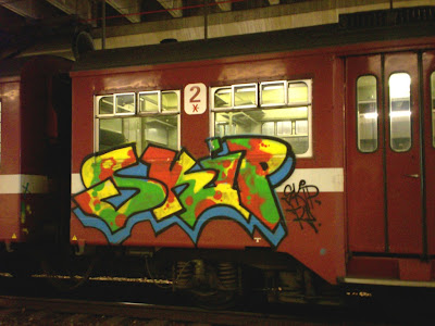 skip train writing