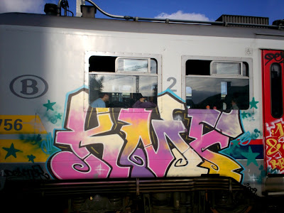 KMF graffiti