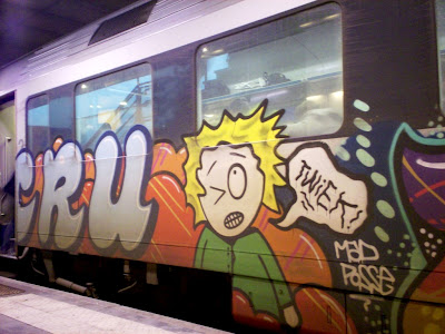 CRU graffiti