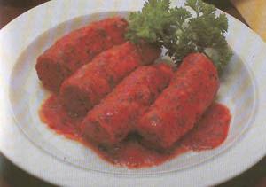Rollitos de ternera con tomate