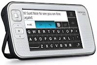 Nokia N800 Oblique