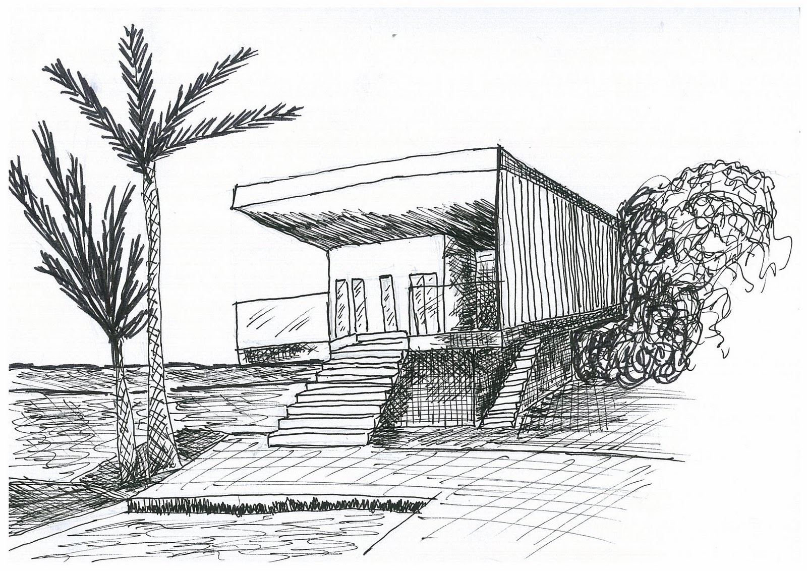 Harley S Archi Assignment Life Sj18 Persepective Sketches