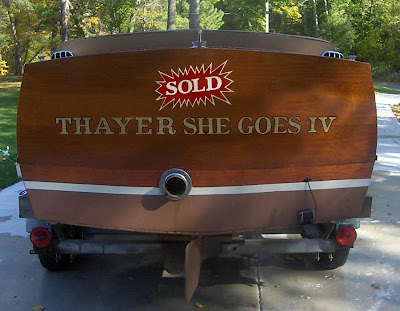 Golden Pond Boat Sold On Ebay Classic Boats Woody Boater