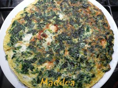 Cucina la mia passione frittata di spinaci e mozzarella for Ricette culinarie