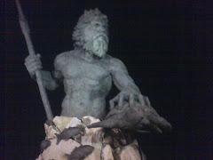 Neptune, at dark