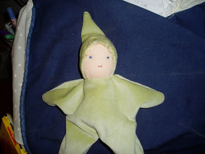 gift for newborn: make a waldorf-style doll