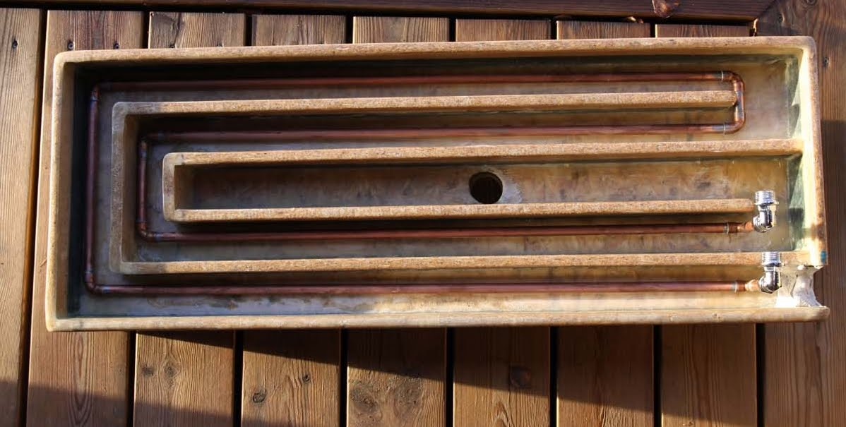 The urge for less energy use: DIY heat exchanger for your ...