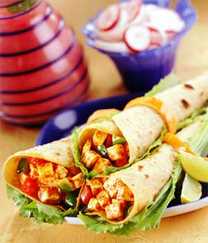 Paneer Kathi Rolls (Cottage Cheeze Frankies)