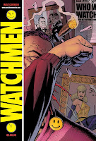 Watchmen Teaser Poster unveiled at the Comic Con in 2007.
