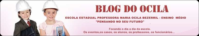 BLOG DO OCILA