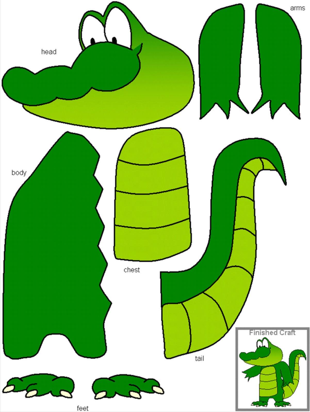 Alphabet Activities A Alligator