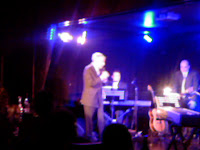 Leonard Cohen, Cuckoo Club, 26/3/07. Photo (c) Ron Blur 2007.
