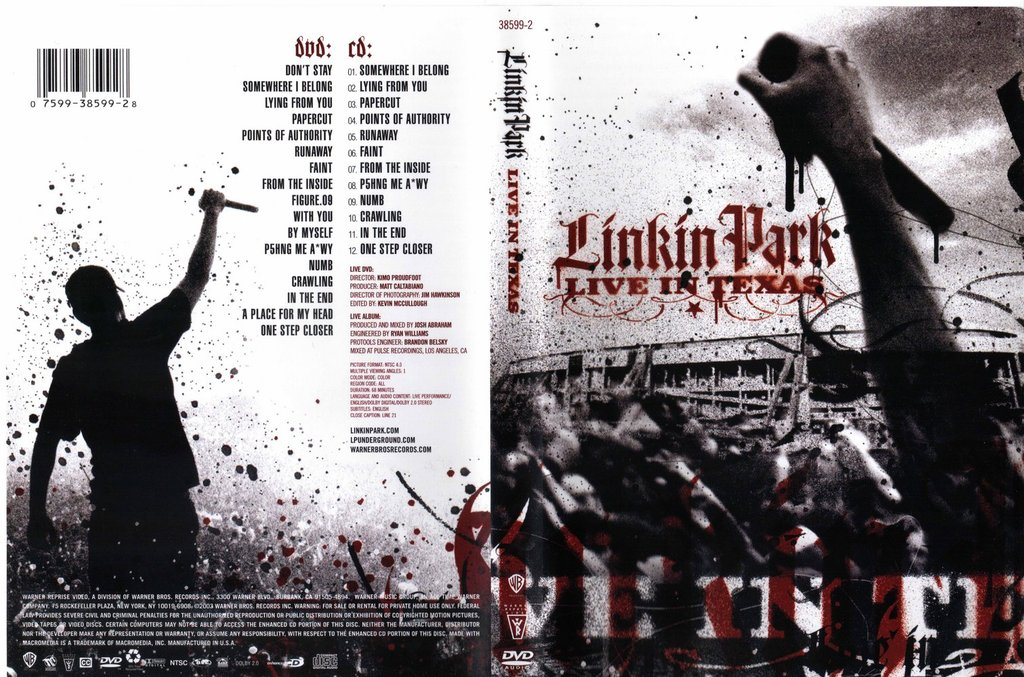 Download video linkin park live in texas one step closer tab