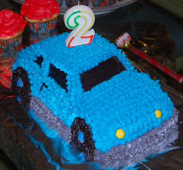 Cakes Wedding Car Themed Birthday For 2 Year Olds