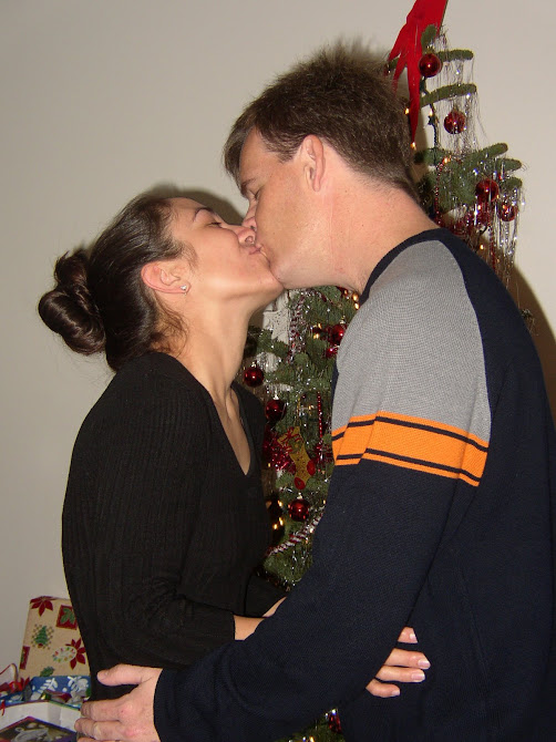 'THIS IS HOW GRANDMA & GRANDPA SMOOCHED TOO!'  LOVE, YOU GRANDMA!  KEV & GABY