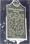 THIS IS THE HISTORICAL MARKER IN FRONT OF THE HOUSE IN CLIMAX