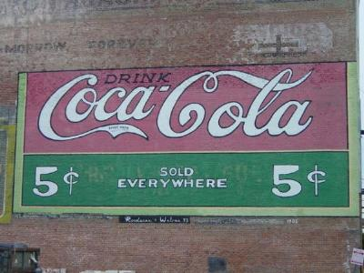 THE PRICE OF SODA-POP WHEN MOM WAS YOUNG