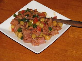 Bean and Ham Salad Recipe